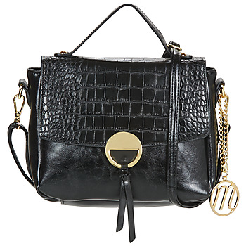 Tassen Dames Handtassen kort hengsel Moony Mood PABLO Zwart