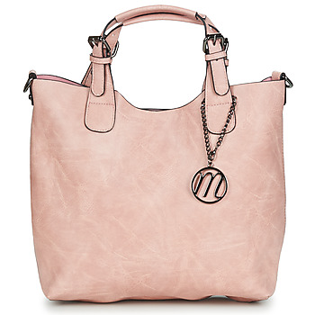 Tassen Dames Handtassen kort hengsel Moony Mood PAPE Roze