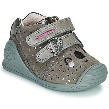 Schoenen Meisjes Lage sneakers Biomecanics BIOGATEO CASUAL Taupe