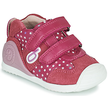 Schoenen Meisjes Lage sneakers Biomecanics BIOGATEO SPORT Roze