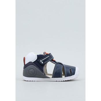 Schoenen Jongens Sandalen / Open schoenen Biomecanics  Blauw