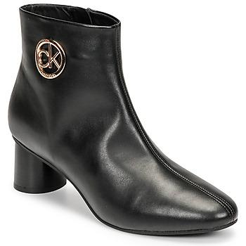Schoenen Dames Laarzen Calvin Klein Jeans CYLINDER ANKLE BOOT Zwart