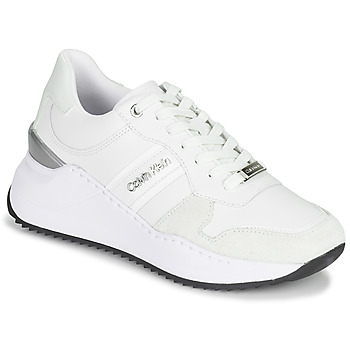 Schoenen Dames Lage sneakers Calvin Klein Jeans RYLIE LACE UP 3 Wit