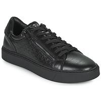 Schoenen Heren Lage sneakers Calvin Klein Jeans LOW TOP LACE UP Zwart