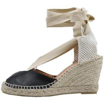 Schoenen Dames Espadrilles Senses & Shoes  Zwart