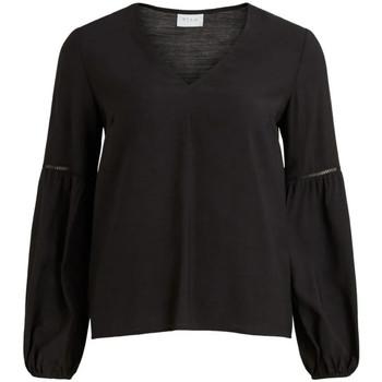 Textiel Dames Tops / Blousjes Vila  Zwart