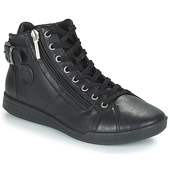 Schoenen Dames Hoge sneakers Pataugas PALME Zwart