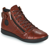 Schoenen Dames Hoge sneakers Pataugas PALME Chataigne