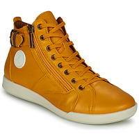 Schoenen Dames Hoge sneakers Pataugas PALME Ocre