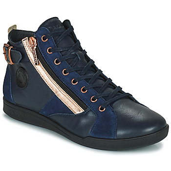 Schoenen Dames Hoge sneakers Pataugas PALME Marine / Roze