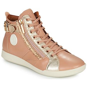 Schoenen Dames Hoge sneakers Pataugas PALME Beige / Leo
