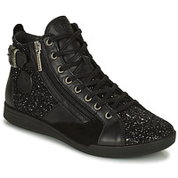 Schoenen Dames Hoge sneakers Pataugas PALME Zwart / Glitter