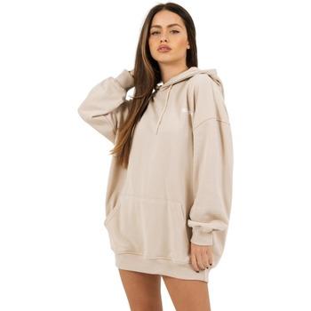 Textiel Dames Sweaters / Sweatshirts Sixth June Robe sweat Femme beige
