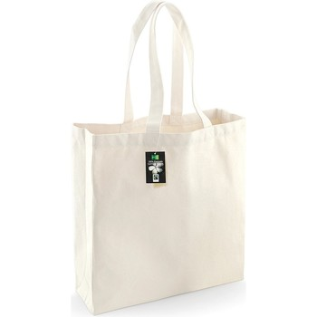 Tassen Tote tassen / Boodschappentassen Westford Mill W623 Natuurlijk