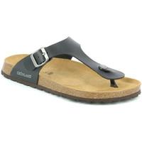 Schoenen Heren Slippers Grunland CB3014 Zwart