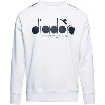 Textiel Heren Sweaters / Sweatshirts Diadora 502175376 Wit