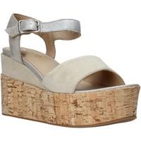 Schoenen Dames Sandalen / Open schoenen IgI&CO 1191 Grijs