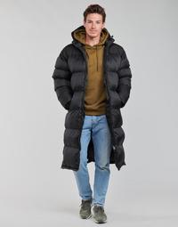 Textiel Heren Dons gevoerde jassen Schott 2190 MAX Zwart
