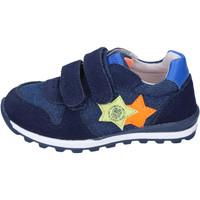 Schoenen Jongens Lage sneakers Enrico Coveri Baskets BJ974 Bleu
