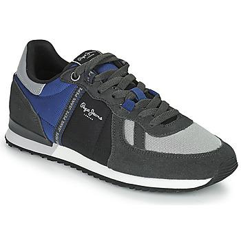 Schoenen Heren Lage sneakers Pepe jeans TINKER ZERO TAPE Grijs / Blauw