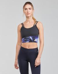 Textiel Dames Sport BHs adidas Performance WUFORU Zwart