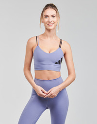 Textiel Dames Sport BHs adidas Performance AMEBAR Violet / Orbite