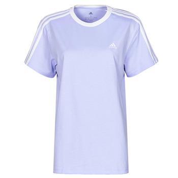Textiel Dames T-shirts korte mouwen adidas Performance WESBEF Violet