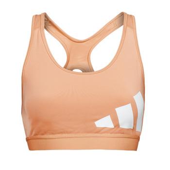 Textiel Dames Sport BHs adidas Performance BETEBAR Blush / Ambient