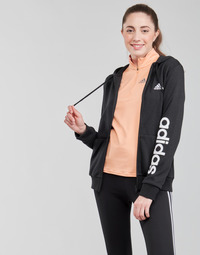Textiel Dames Trainings jassen adidas Performance WELINFT FZ Zwart