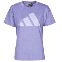 Textiel Dames T-shirts korte mouwen adidas Performance WEWINTEE Violet / Mel
