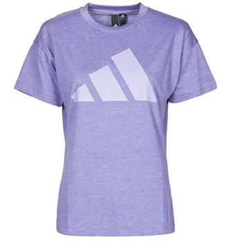 Textiel Dames T-shirts korte mouwen adidas Performance WEWINTEE Orbit / Violet / Mel