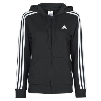 Textiel Dames Sweaters / Sweatshirts adidas Performance W 3S FT FZ HD Zwart
