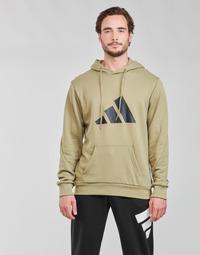Textiel Heren Sweaters / Sweatshirts adidas Performance M FI 3B HOODIE Groen / Orbite