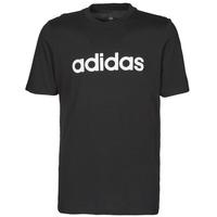 Textiel Heren T-shirts korte mouwen adidas Performance M LIN SJ T Zwart