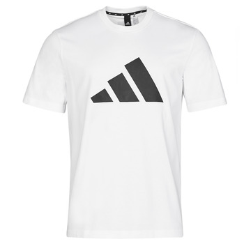 Textiel Heren T-shirts korte mouwen adidas Performance M FI 3B TEE Wit