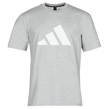 Textiel Heren T-shirts korte mouwen adidas Performance M FI 3B TEE Bruyère / Grijs / Moyen