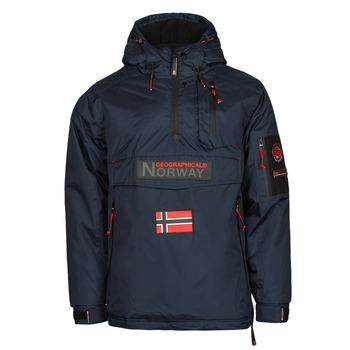 Textiel Heren Parka jassen Geographical Norway BARKER Marine