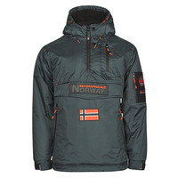 Textiel Heren Parka jassen Geographical Norway BARKER Grijs / Donker
