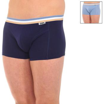 Ondergoed Heren Boxershorts DIM Pack-2 boxers ecoDim Multicolour