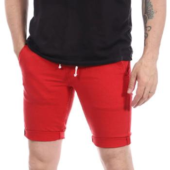 Textiel Heren Korte broeken / Bermuda's Paname Brothers  Rood