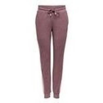 Textiel Dames Trainingsbroeken Only Play PANTALON DE CHANDAL CORTE SLIM 15209220 Brown