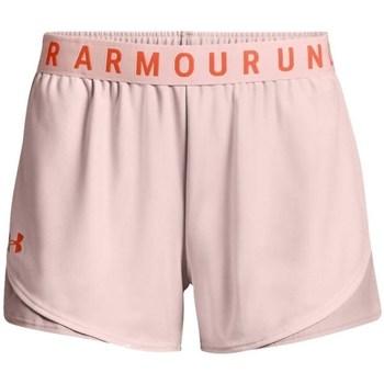 Textiel Dames Korte broeken / Bermuda's Under Armour Play UP Short 30 Rose