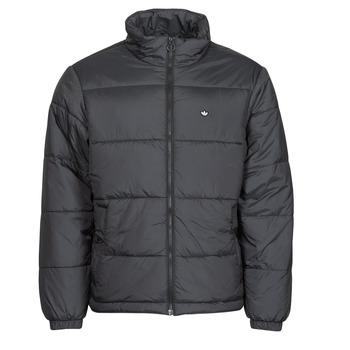 Textiel Heren Dons gevoerde jassen adidas Originals PAD STAND PUFF Zwart
