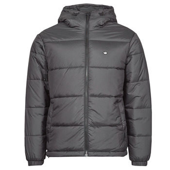 Textiel Heren Dons gevoerde jassen adidas Originals PAD HOODED PUFF Zwart