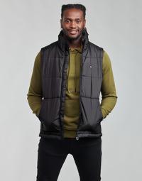 Textiel Heren Dons gevoerde jassen adidas Originals PADDED VEST Zwart