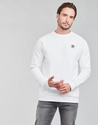 Textiel Heren Sweaters / Sweatshirts adidas Originals ESSENTIAL CREW Wit