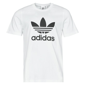 Textiel Heren T-shirts korte mouwen adidas Originals TREFOIL T-SHIRT Wit