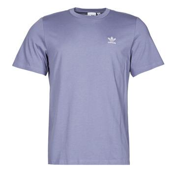 Textiel Heren T-shirts korte mouwen adidas Originals ESSENTIAL TEE Violet / Orbite