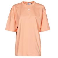 Textiel Dames T-shirts korte mouwen adidas Originals TEE Blush / Ambient