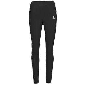 Textiel Dames Leggings adidas Originals 3 STRIPES TIGHT Zwart